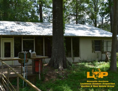 BOGGY BAYOU WATERFRONT CAMP FOR SALE AT AUCTION
